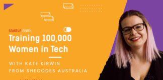 Shecodes Australia Founder Kate Kirwin